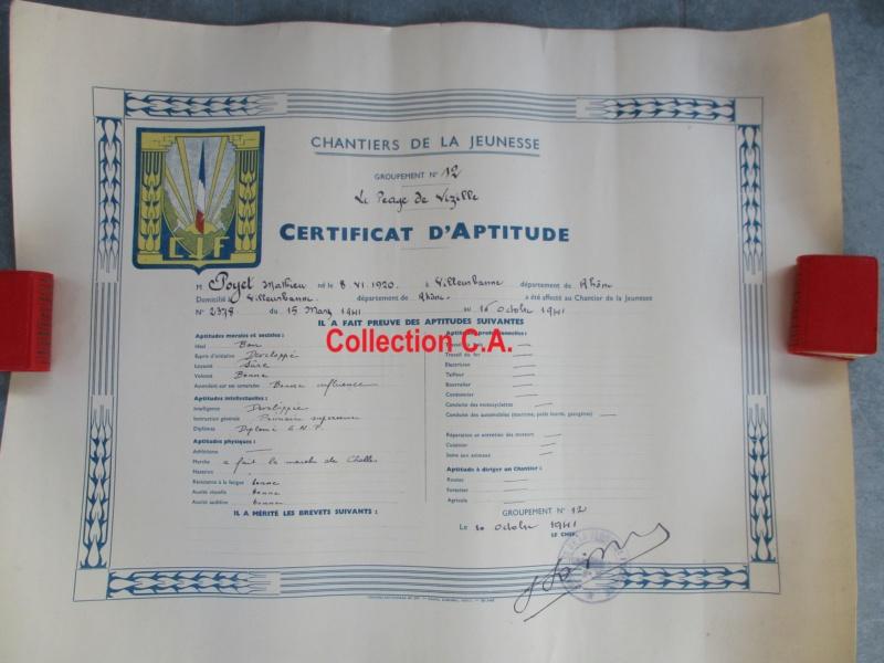 Le certificat de moralité et d'aptitude des Chantiers de Jeunesse (Régime Vichy) Img_6341