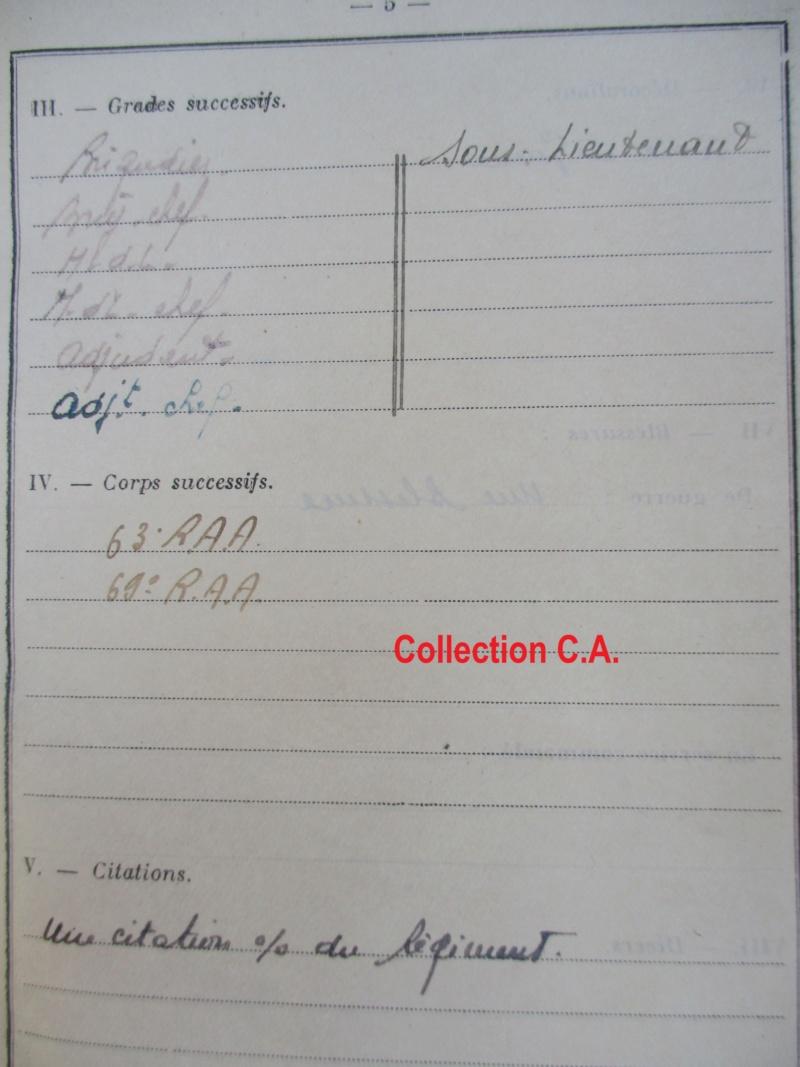 Le livret individuel (militaire) Type Armée d'armistice (Régime de Vichy) Img_6416