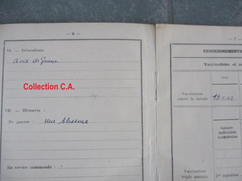Le livret individuel (militaire) Type Armée d'armistice (Régime de Vichy) Img_6417