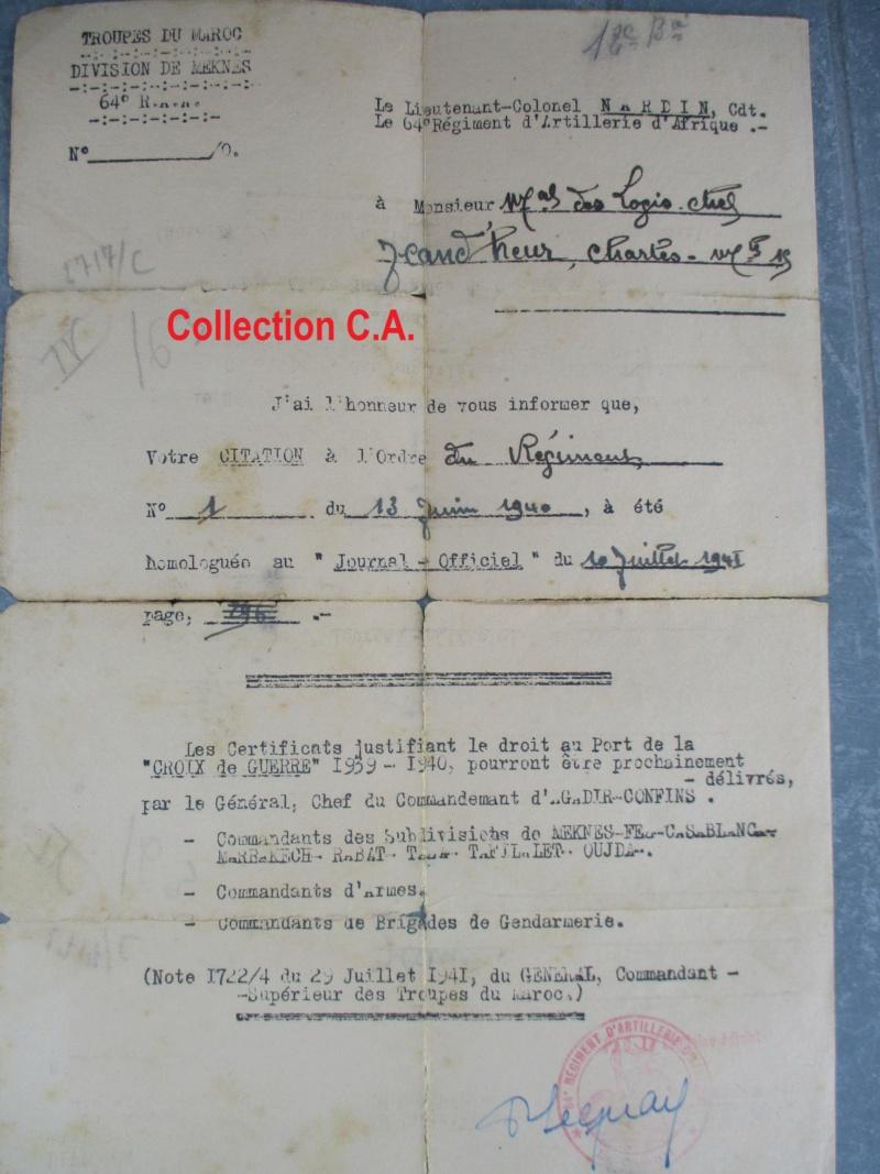 Le livret individuel (militaire) Type Armée d'armistice (Régime de Vichy) Img_6418