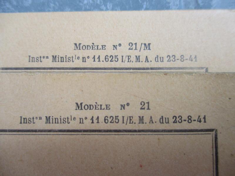 Le livret individuel (militaire) Type Armée d'armistice (Régime de Vichy) Img_6420
