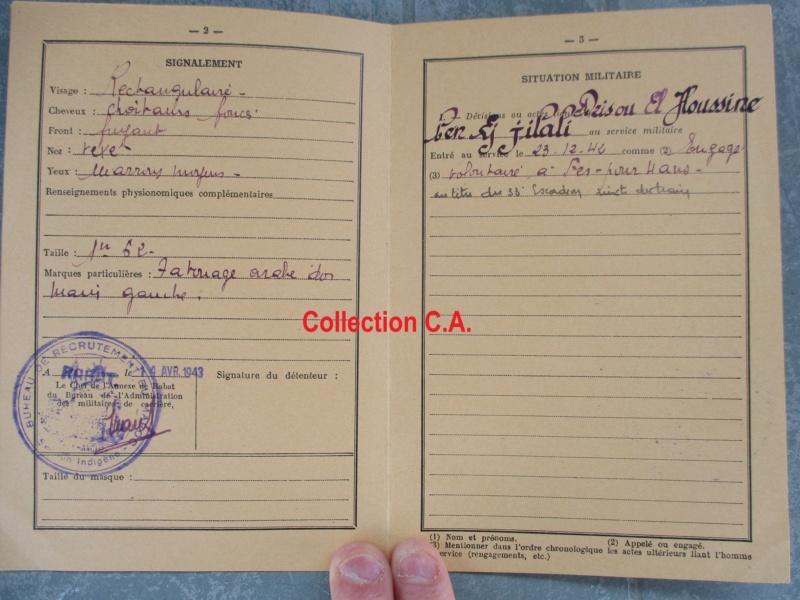 Le livret individuel (militaire) Type Armée d'armistice (Régime de Vichy) Img_6424