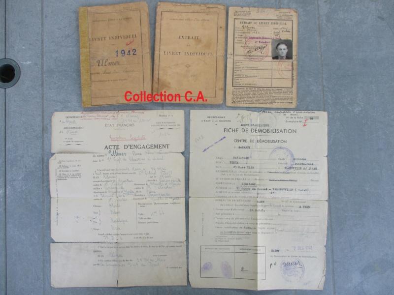 Le livret individuel (militaire) Type Armée d'armistice (Régime de Vichy) Img_6529