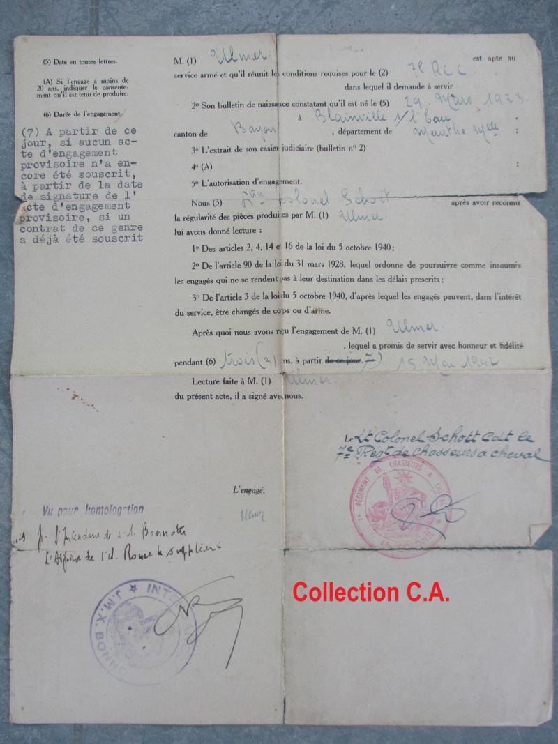 Le livret individuel (militaire) Type Armée d'armistice (Régime de Vichy) Img_6534