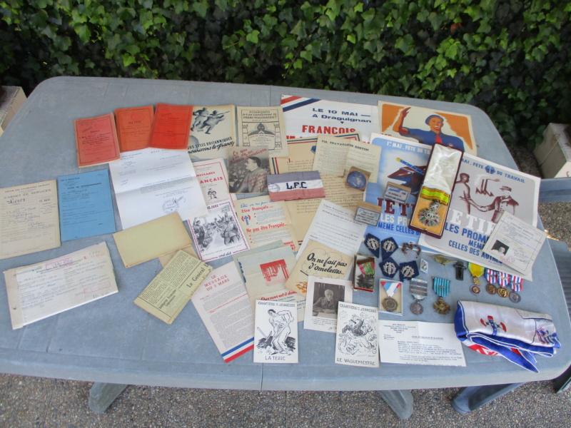 Deux mois de trouvailles (Médailles, insignes, Vichy, LVF, LFC ...) Img_7110