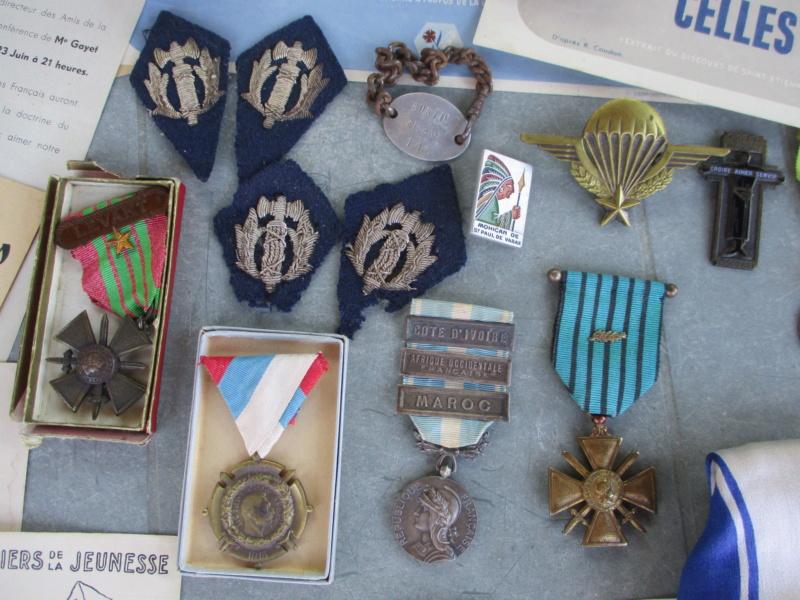 Deux mois de trouvailles (Médailles, insignes, Vichy, LVF, LFC ...) Img_7111