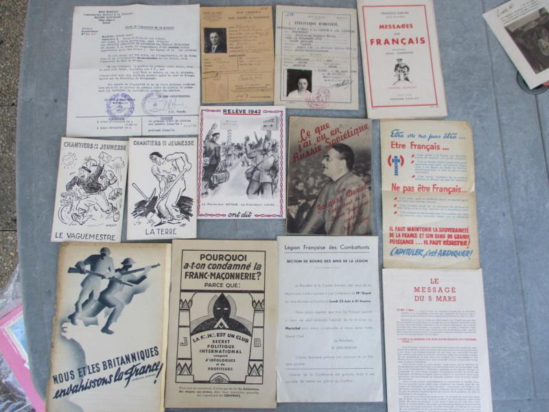 Deux mois de trouvailles (Médailles, insignes, Vichy, LVF, LFC ...) Img_7114