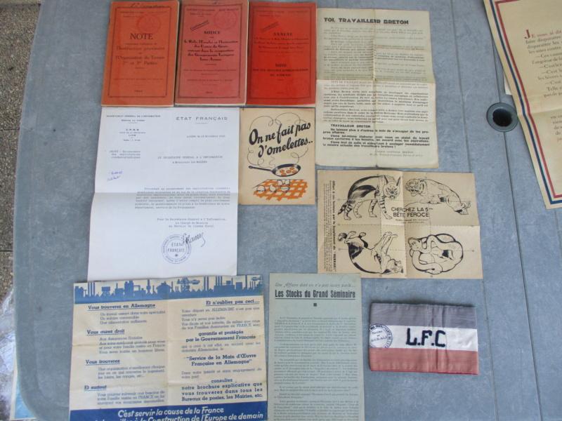 Deux mois de trouvailles (Médailles, insignes, Vichy, LVF, LFC ...) Img_7115