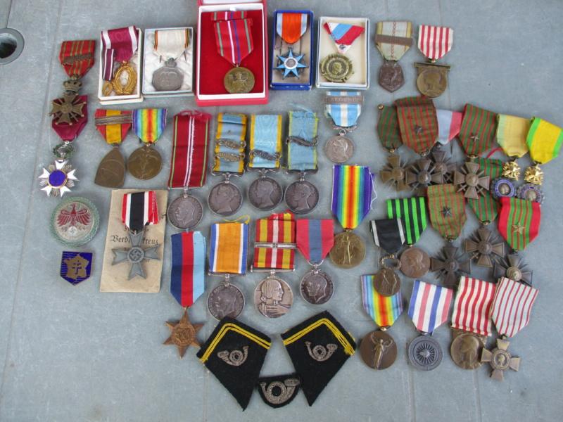 Beau lot de médailles chez le particulier Img_9314