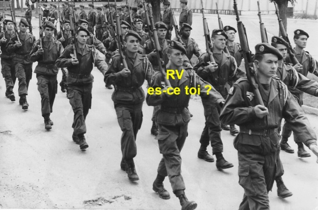 1er RCP , La 1ere Compagnie camp d'Idron. 1er_rc12