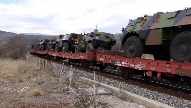 Il avait fait ses heures : le conducteur abandonne le train transportant les blindés du 31e régiment de Castelsarrasin Image11
