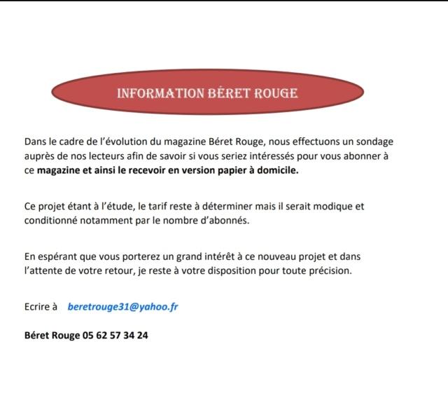 Information au sujet du magazine Béret rouge  Screen15