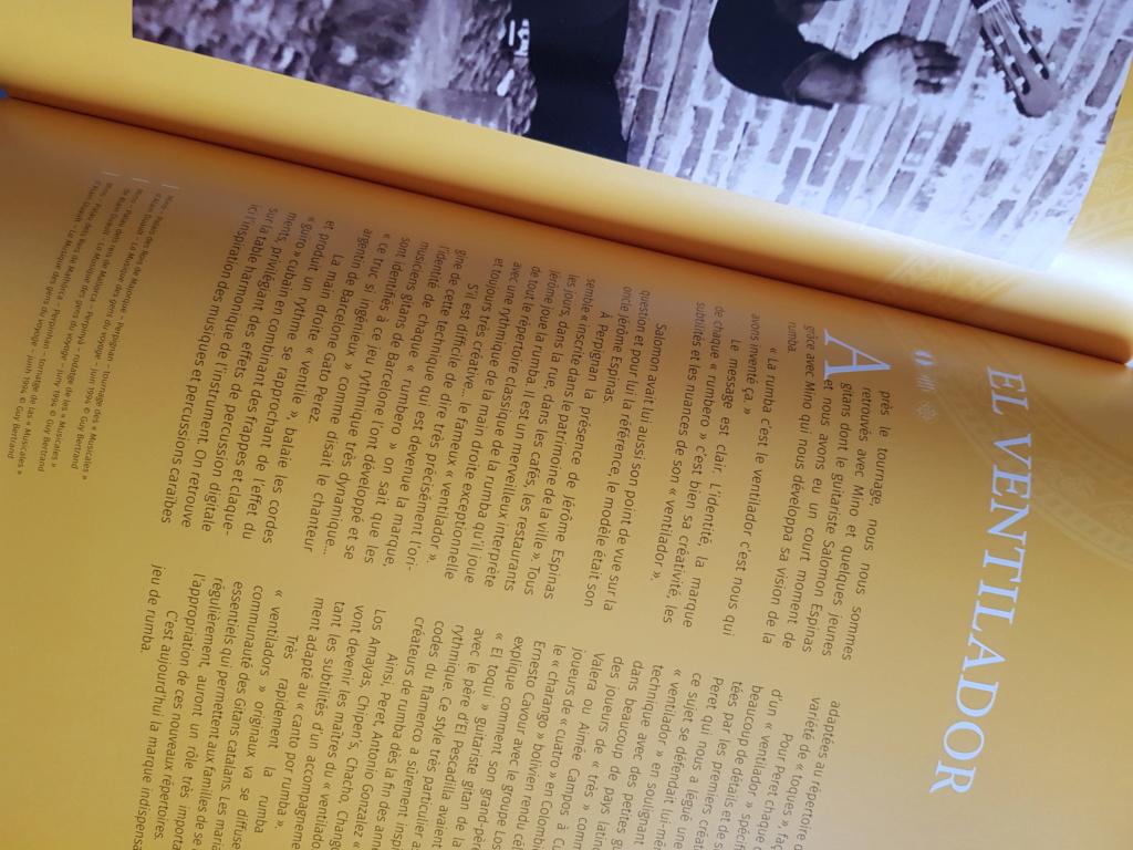 Magnifique livre    Les musiciens Gitans de la Rumba     en Librairie  20190319