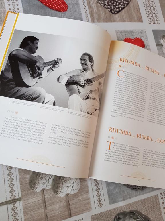 Magnifique livre    Les musiciens Gitans de la Rumba     en Librairie  20190322