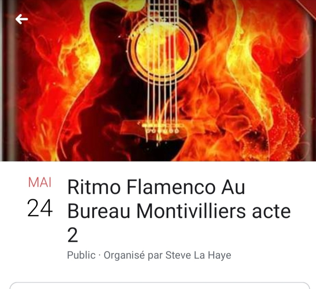 Le 24 Mai soirée Flamenco à Montivilliers proche du Havre  20190520