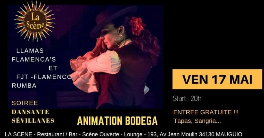 A Mauguio Franky  Flamenco Rumba et LLAMAS FLAMENCA'S  Vendredi 17 Mai  Fb_im143