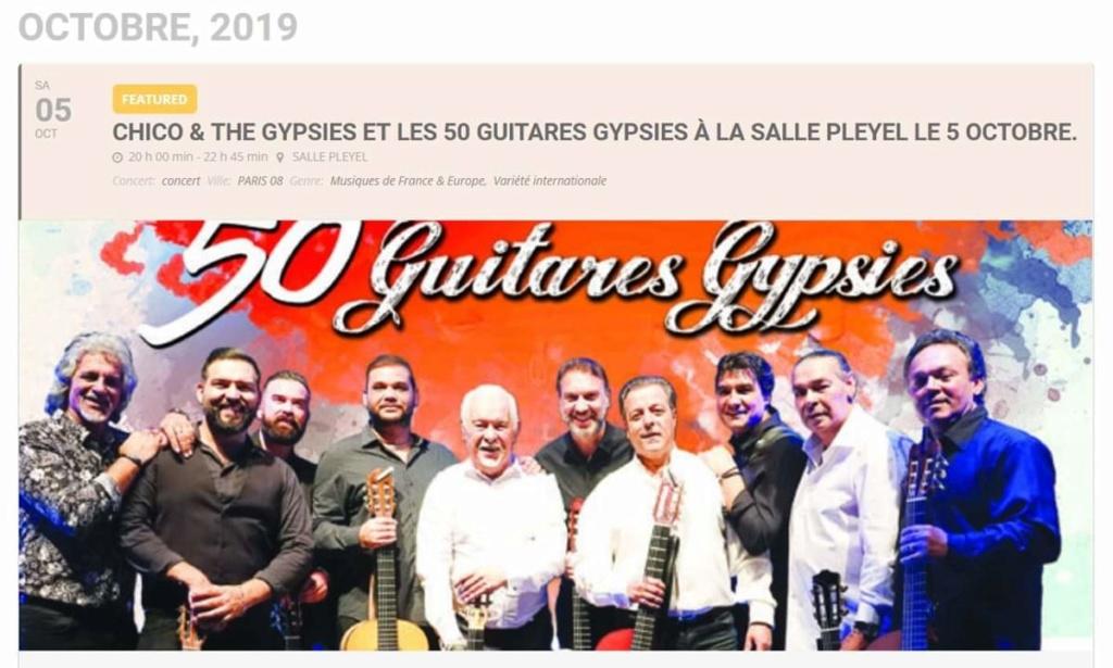 Chico & The Gypsies et les 50 guitares à la salle Pleyel a Paris  Fb_im155