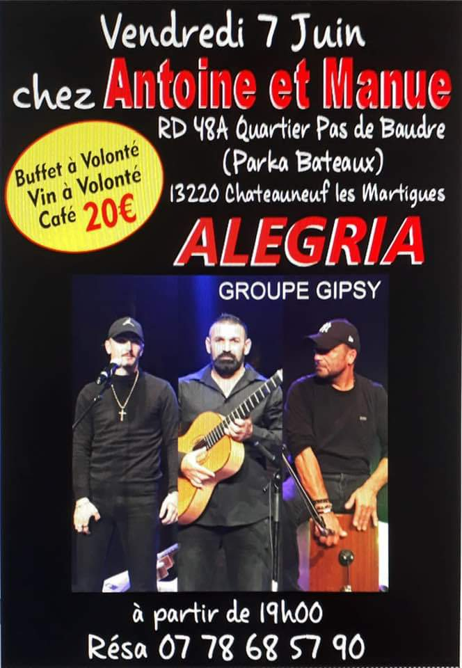 Vendredi 7 Juin à Chateauneuf les Martigues  Alegria  Fb_im170