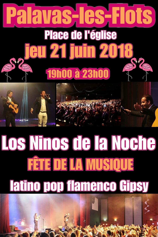 Los Ninos de la Noche - Fête de la musique à PALAVAS Fb_img11