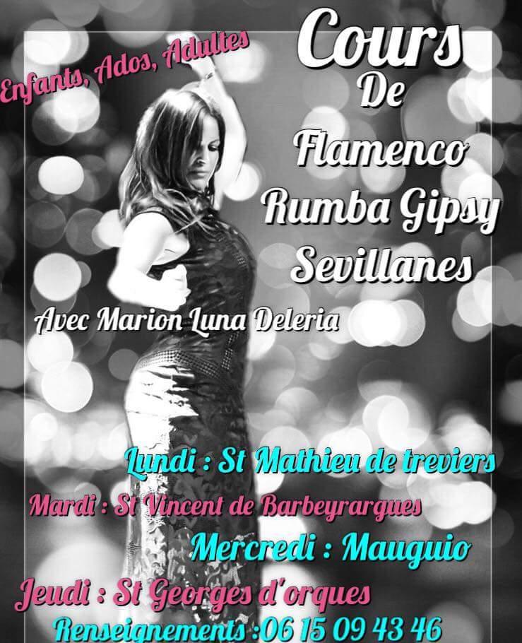 C'est la rentrée = Cours de danse Flamenco Sévillanes Rumba du côté de  Mauguio  Fb_img51