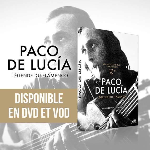 Nouveau documentaire sur Paco De Lucia .DVD.  VOD. Fb_img68