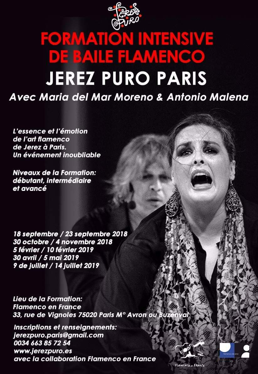 Formation intensive de Baile Flamenco à Paris jusqu'au 4 Novembre  Fb_img91