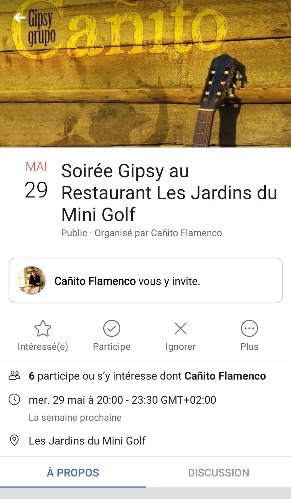 Soirée avec Cañito  Saint Martin d'Ardèche  Screen21