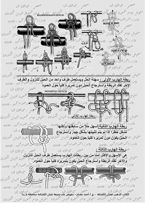 كتاب الحبال والعقد والربطات  46346310