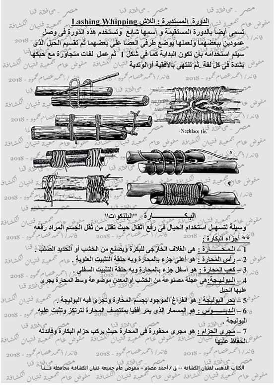 كتاب الحبال والعقد والربطات  46351811