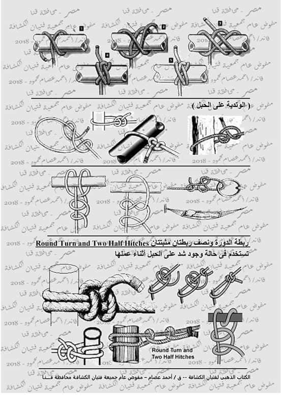 كتاب الحبال والعقد والربطات  46372510