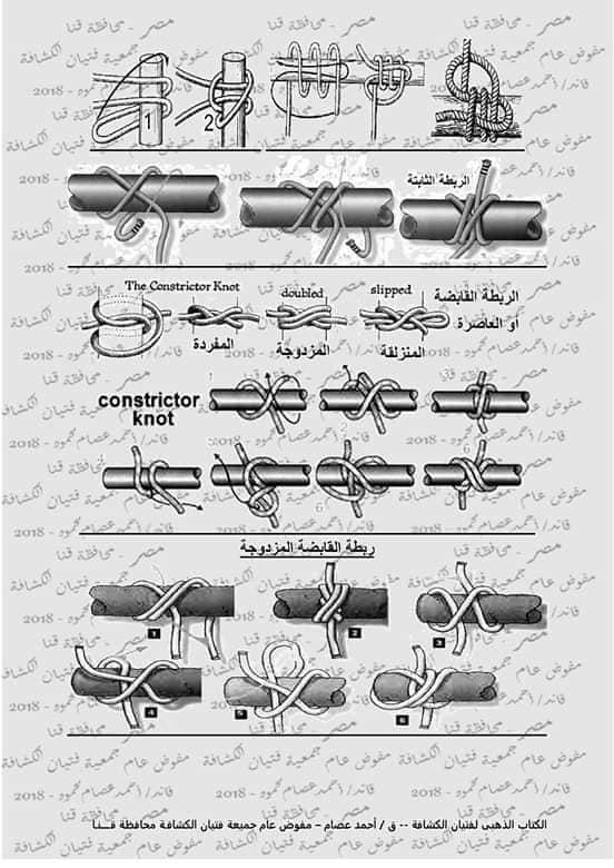كتاب الحبال والعقد والربطات  46387210