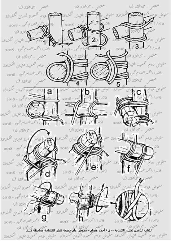 كتاب الحبال والعقد والربطات  46436310