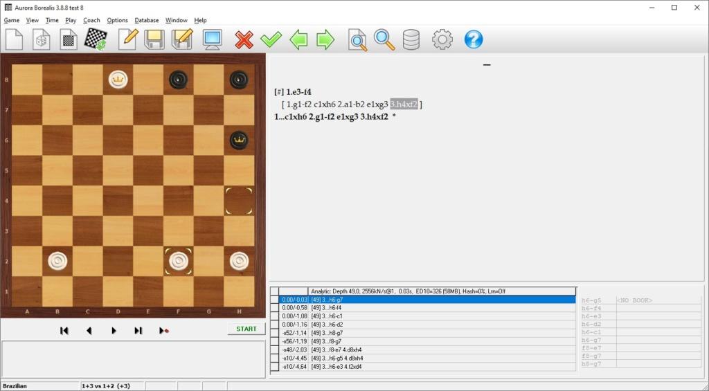 21-й чемпионат Республики Беларусь по шашечной композиции 2021 года в шашки - 64 (русская и бразильская версии) Aurbra10