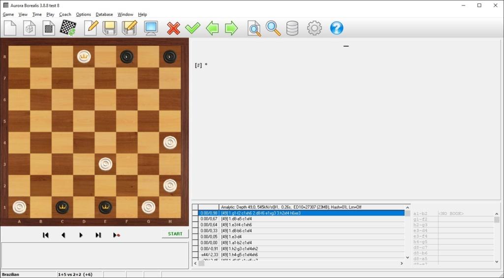 21-й чемпионат Республики Беларусь по шашечной композиции 2021 года в шашки - 64 (русская и бразильская версии) Aurbra11