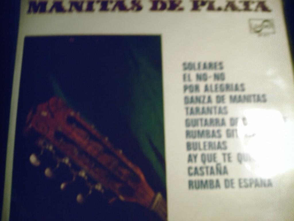 Flamenco cassette et disque vinyle   - Page 15 00910
