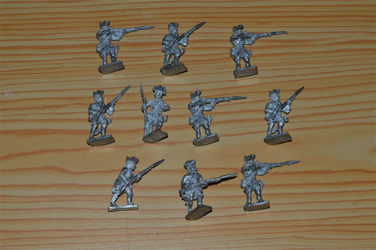 Vendus ! 10 fantassins guerre de 7 ans/Canada 28mm 7_ans11