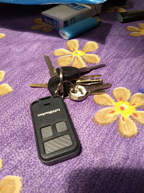 Key fob garage remote opener Img_2046