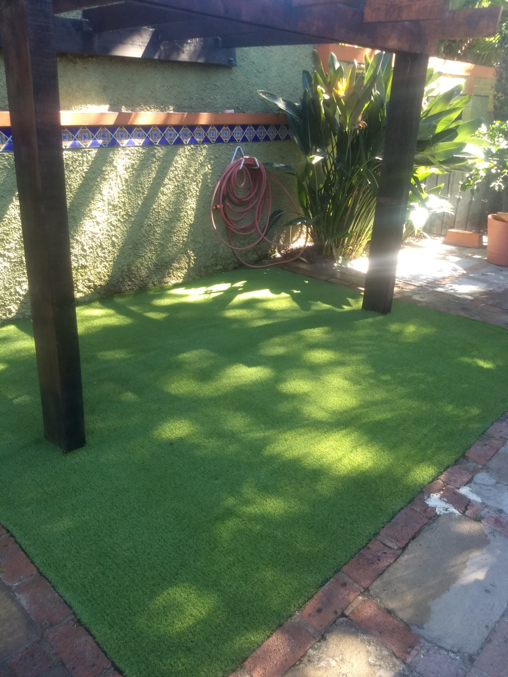 Outdoor artificial turf Img_2081