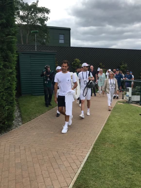 WIMBLEDON 2019 photos et videos  - Page 2 23993310