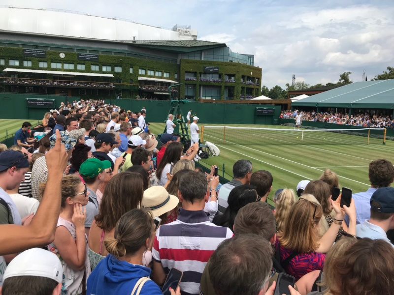 WIMBLEDON 2019 photos et videos  - Page 7 24191110