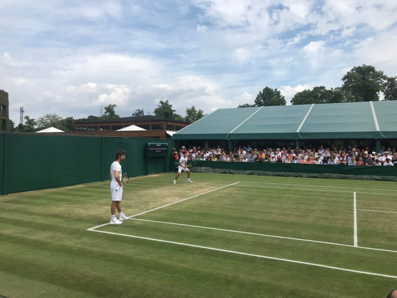 WIMBLEDON 2019 photos et videos  - Page 7 24191310
