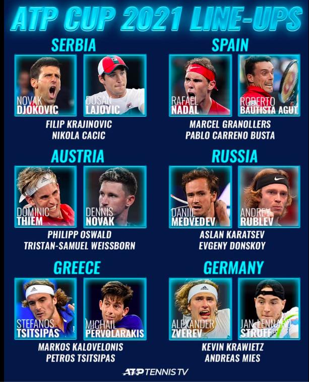 ATP CUP 2021 - Page 2 Captur14