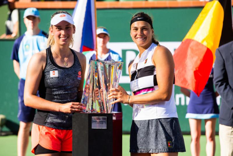 WTA INDIAN WELLS 2019 - Page 15 Merten10