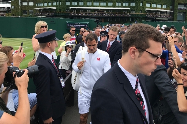 WIMBLEDON 2019 photos et videos  - Page 7 Topele14
