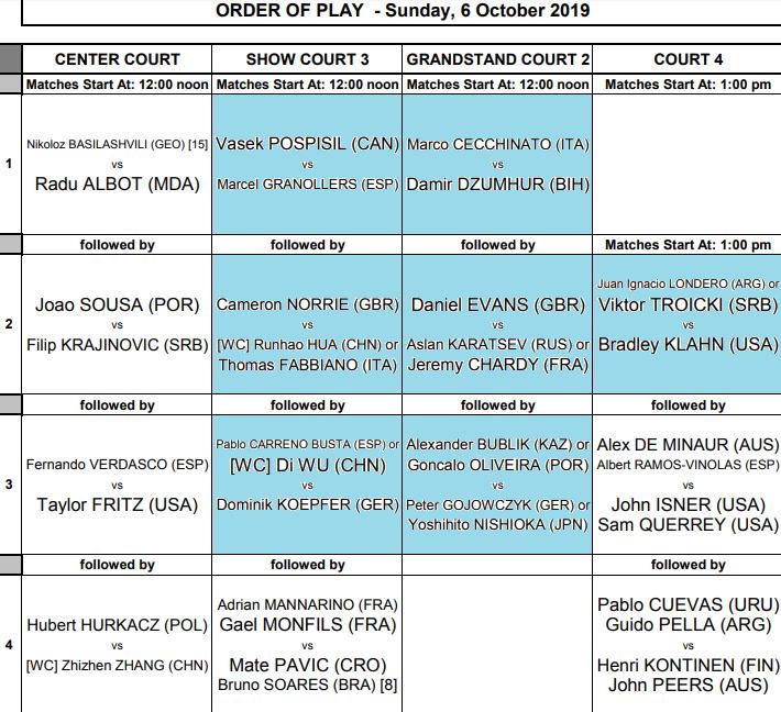 ATP SHANGHAI 2019 Unti1083