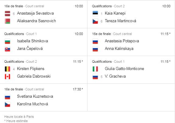 WTA MOSCOU 2019 Unti1203