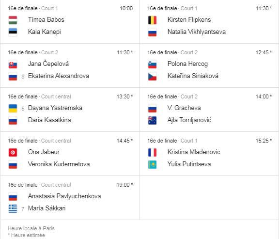 WTA MOSCOU 2019 Unti1238
