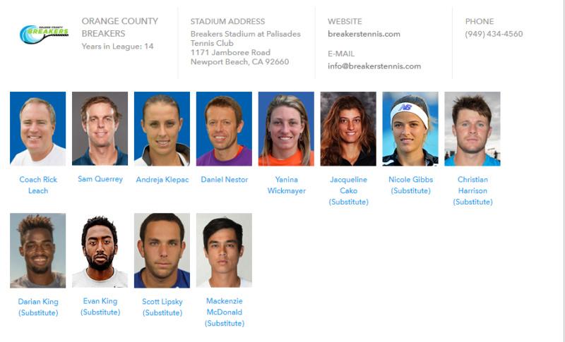 World Team Tennis 2018 Unti1589