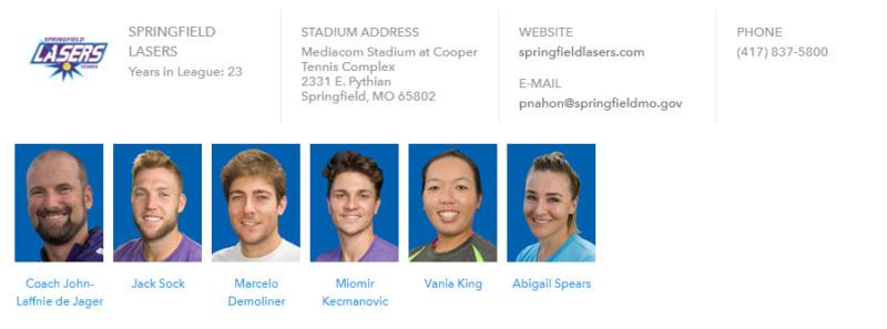World Team Tennis 2018 Unti1592