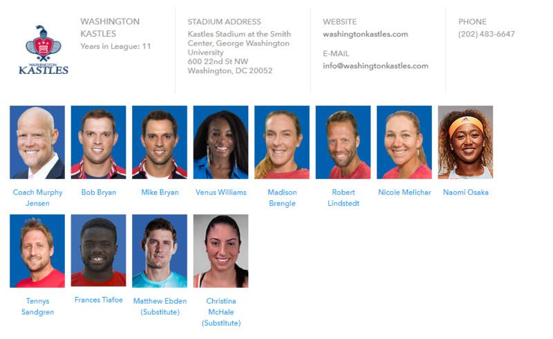 World Team Tennis 2018 Unti1593